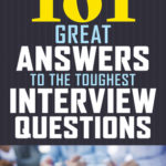 [PDF] [EPUB] 101 Great Answers to the Toughest Interview Questions Download