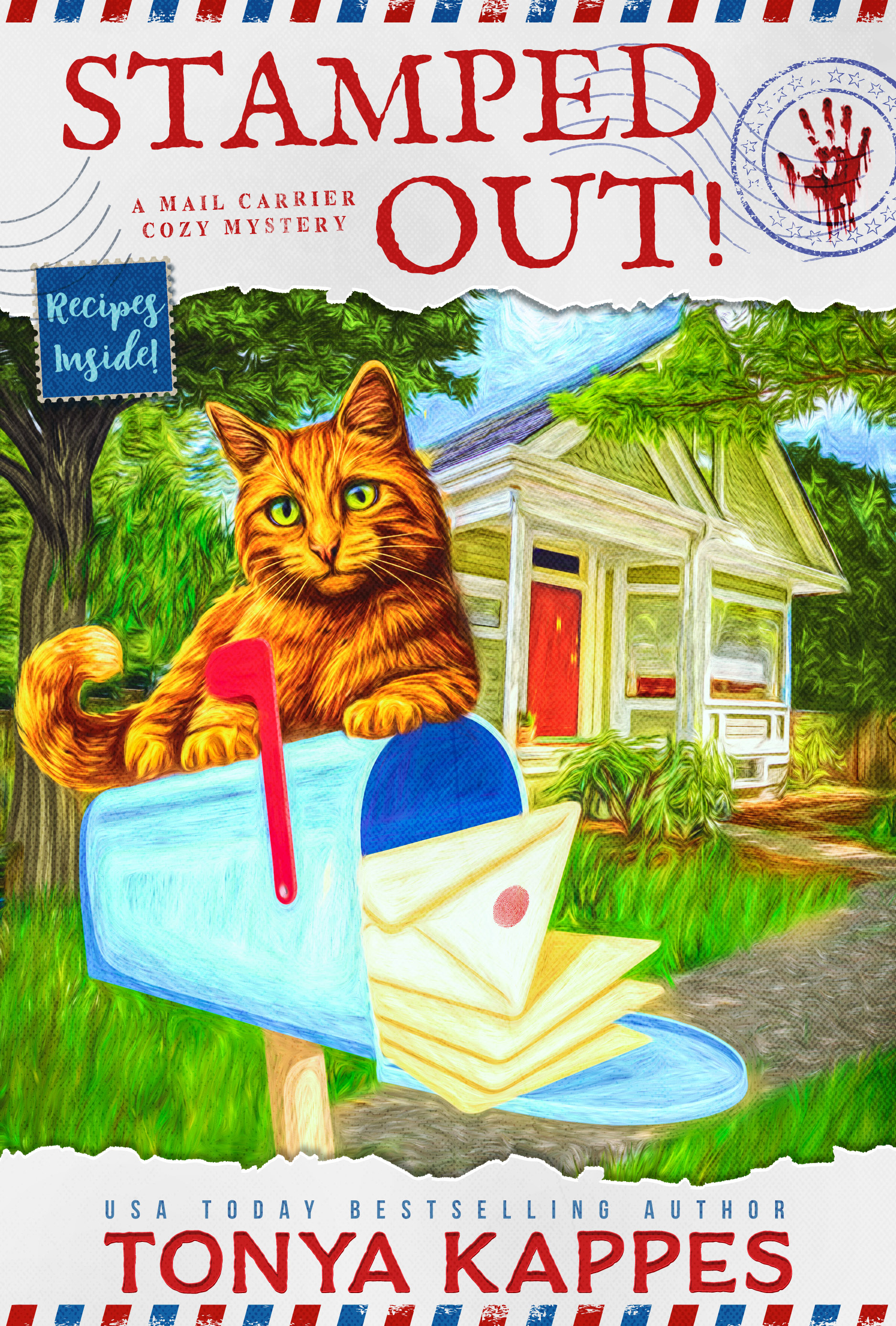 [PDF] [EPUB] Stamped Out (A Mail Carrier Cozy Mystery #1) Download by Tonya Kappes
