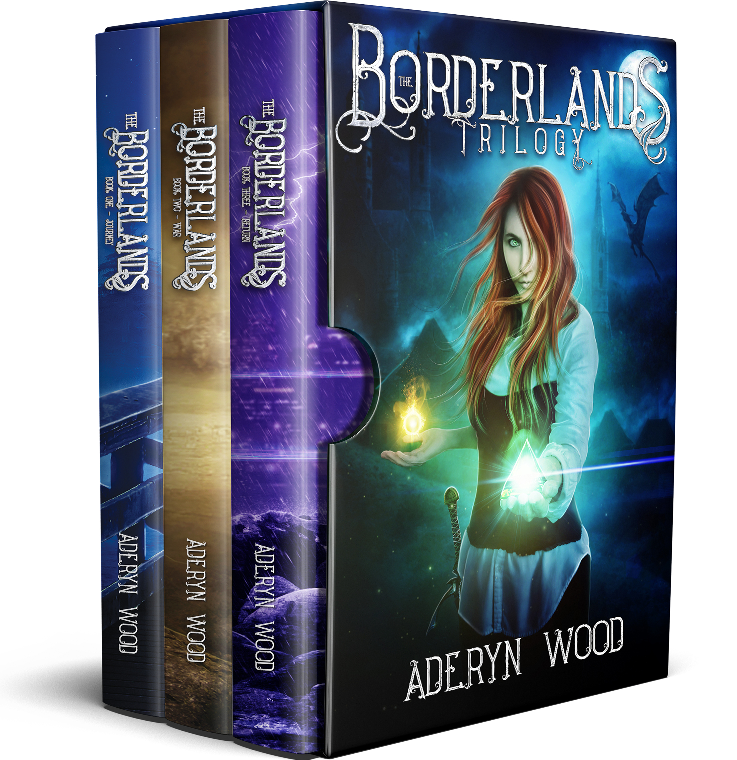 [PDF] [EPUB] The Borderlands: The Complete Trilogy Download by Aderyn Wood