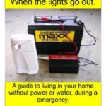 [PDF] [EPUB] When the lights go out!: A guide to living in your home without power or water, during a emergency. Download