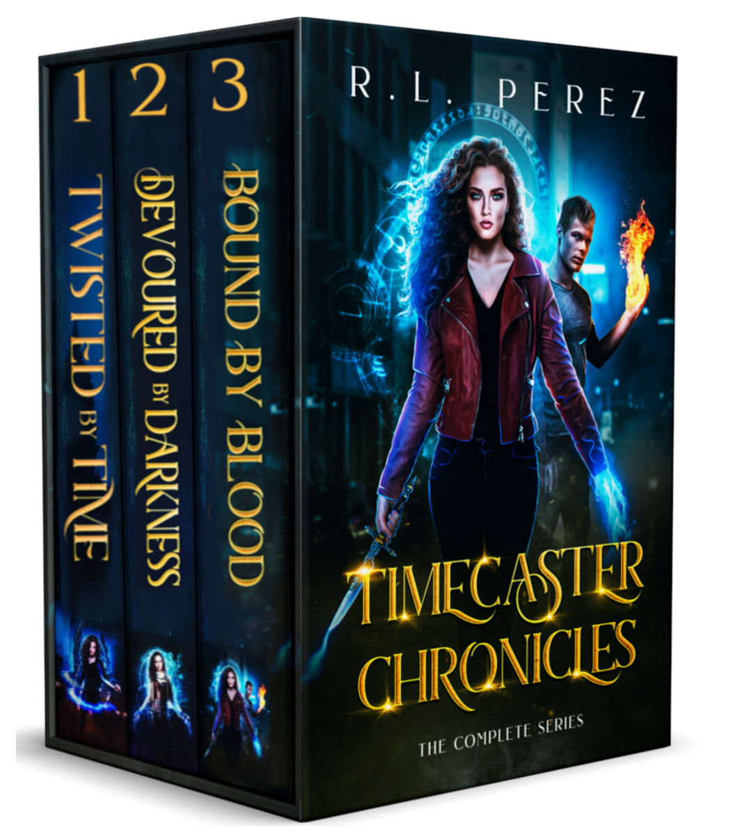 [PDF] [EPUB] Timecaster Chronicles: The Complete Series Download by R.L. Perez