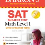 [PDF] [EPUB] SAT Subject Test Math Level 1: with 5 Practice Tests Download
