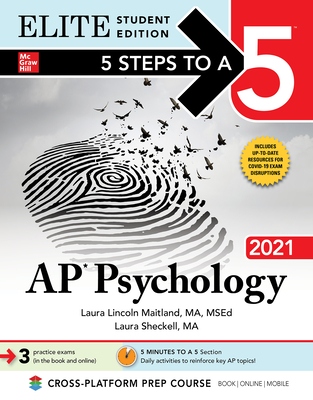 [PDF] [EPUB] 5 Steps to a 5: AP Psychology 2021 Elite Student Edition Download by Laura Lincoln Maitland