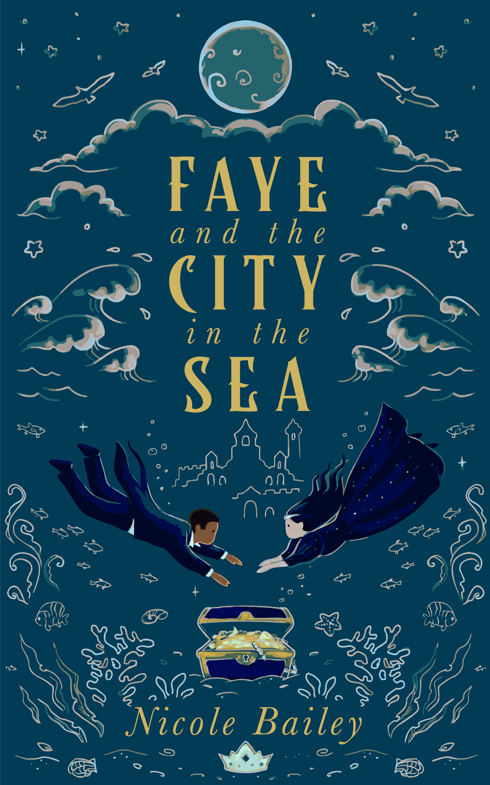[PDF] [EPUB] Faye and the City in the Sea (Faye and the Ether #2) Download by Nicole  Bailey